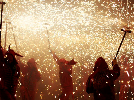 Spain's Fire Festival: San Juan