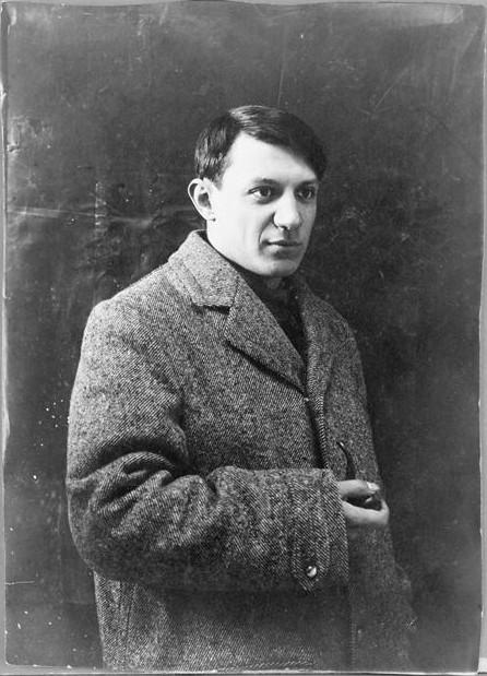 Portrait of young Pablo Picasso