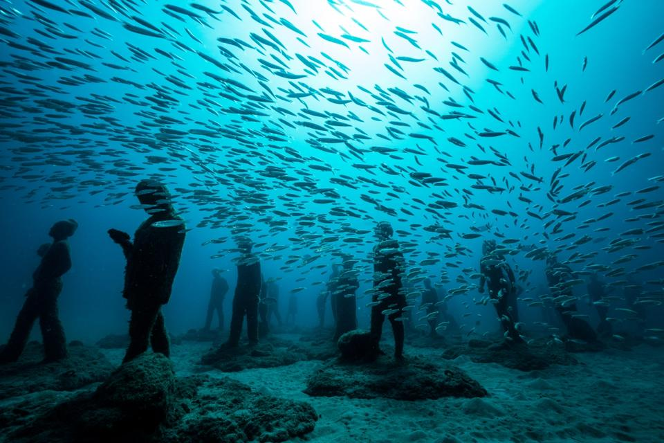 The Canary Islands Underwater Museum