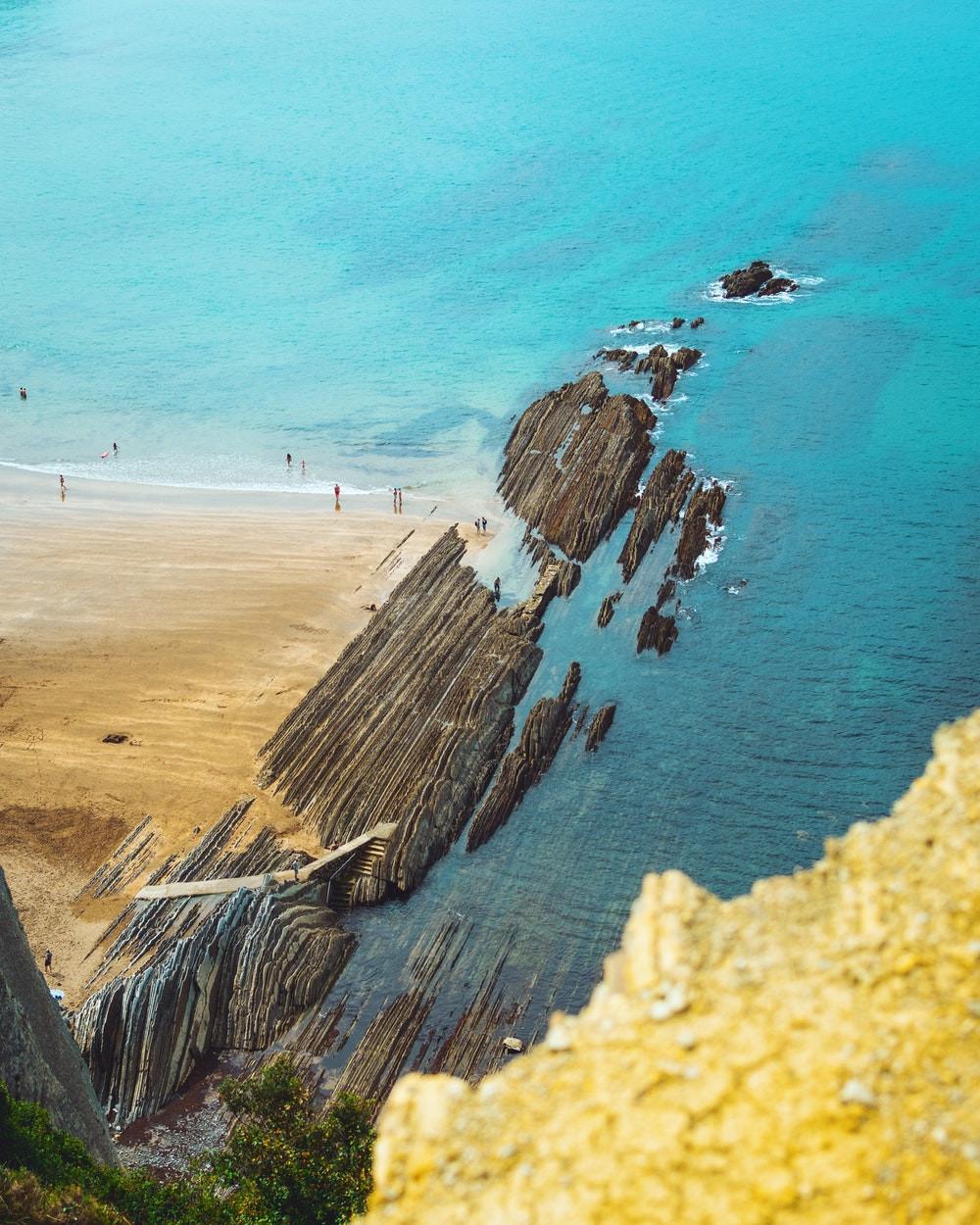 Game of Thrones location in Spain of The unique Itzurun Beach