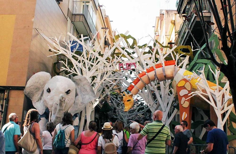 Spain's Festa Major de Gracia