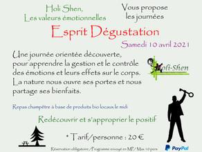"""Journée """"Esprit Dégustation"""""""