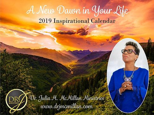 2019 Inspirational Calendar
