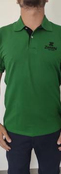Camisa Polo com Detalhe