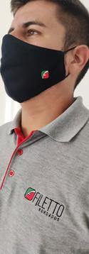 Máscara e Camisa Polo Personalizadas