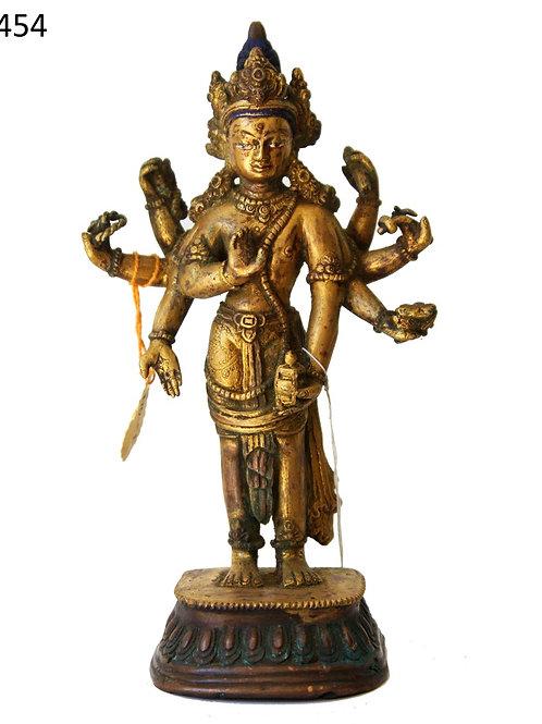 Feuer vergoldete Indische Göttin Tara mehr als 150 Jahre alt