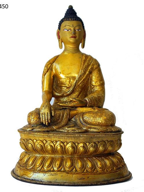 Feuer vergoldeter Buddha mehr als 150 Jahre alt