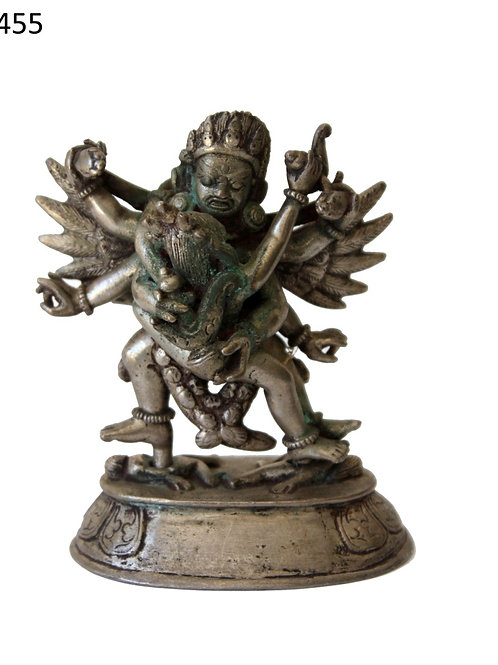 Göttheit Chakrasamvara mehr als 150 jahre alt