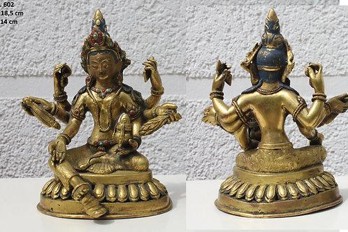 Buddha Feuervergoldet mehr als 200 Jahre alt