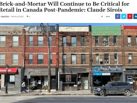Brick-and-Mortar will continue to be critical