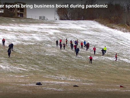 CBC Story:  'Outdoor Winter Sports Bring Business Boost during Pandemic'