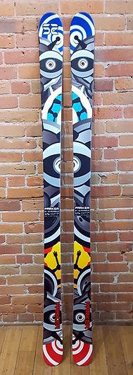 Parker Twin Tip skis.JPG