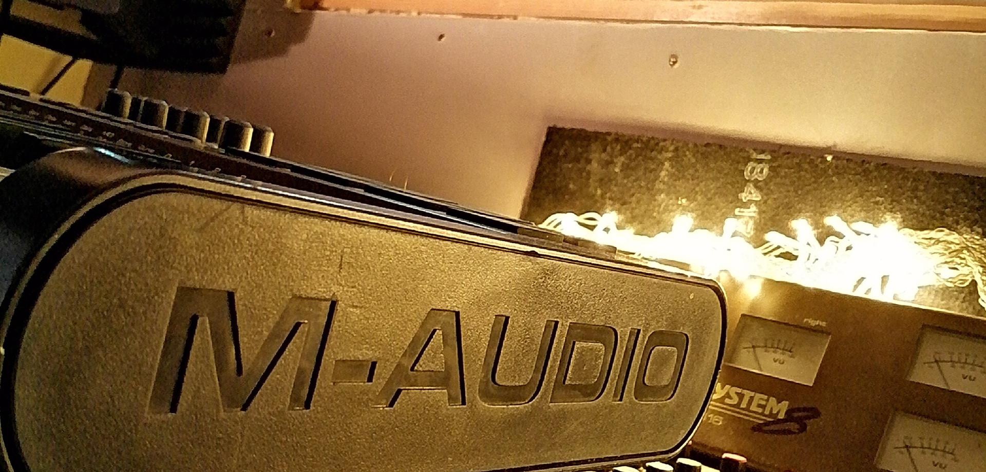 M Audio controller