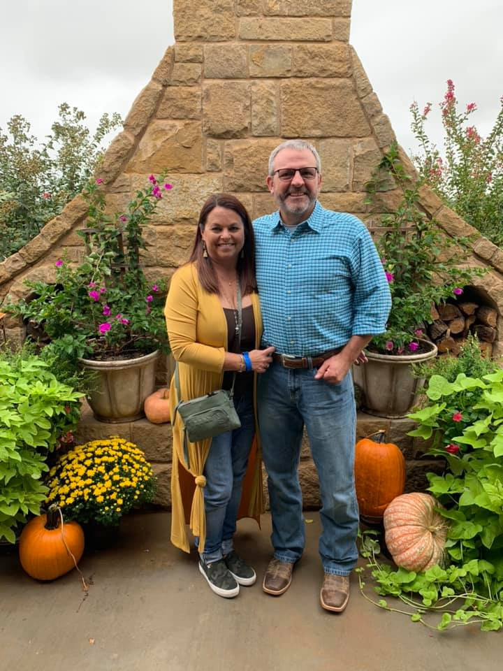 Lora Homan & husband, Andy Homan