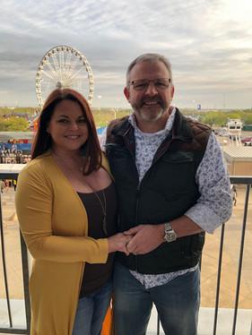 Lora Homan, Realtor Lubbock, TX & Andy Homan, husband