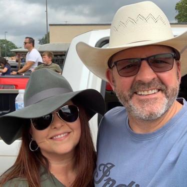 Lora Homan, WestMark Realtor and husband, Andy, Director Marketing TTU