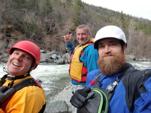 Rafting Scott River