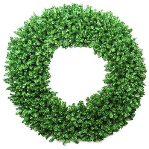 Coronas de pino artificial
