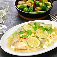 Tilapia in Chili Lime Sauce