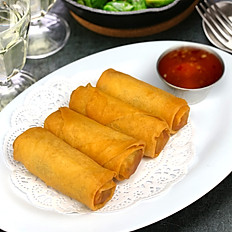 Thai Veggie Egg Rolls (4 Pieces)