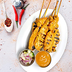 Chicken Satay (5 Pieces)
