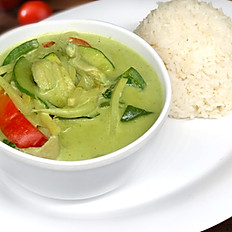 (Lunch) Green Curry