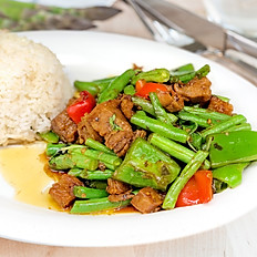 (Lunch) Spicy Basil (Pad Ka Prow)