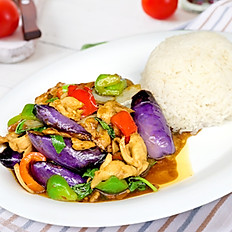 (Lunch) Spicy Eggplant