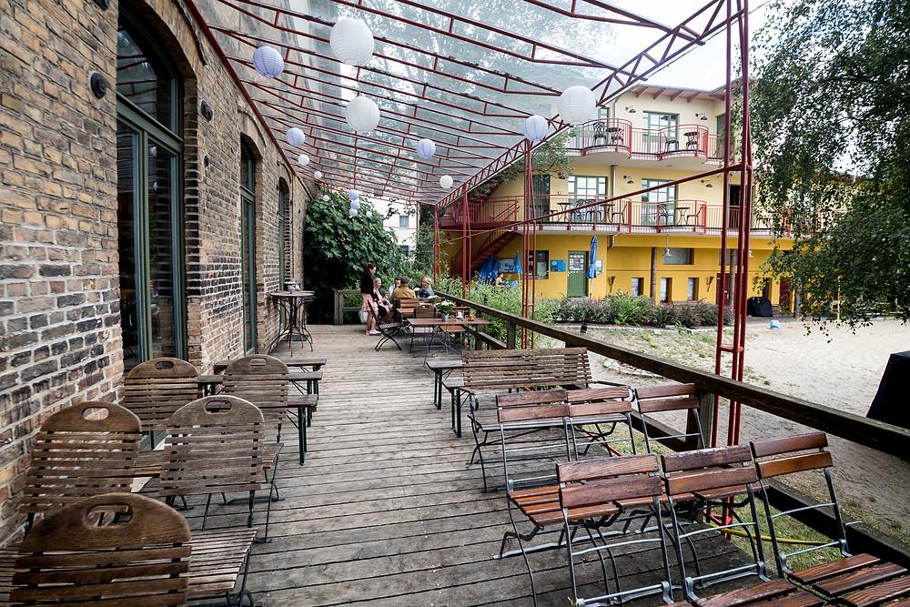 Saal für Veranstaltung und Freie Trauung im Restaurant Krokodil