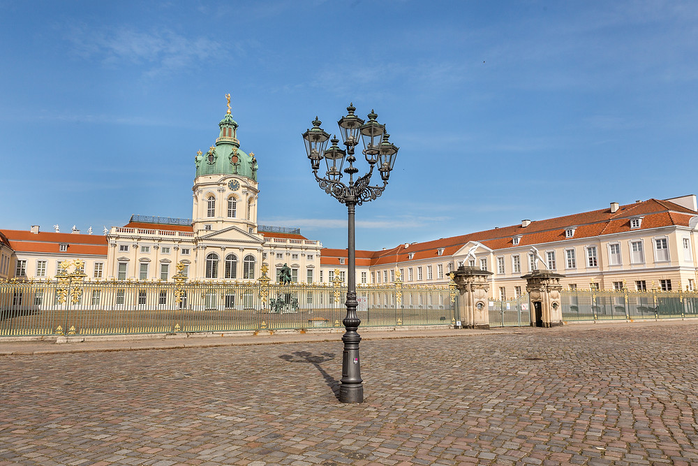 Schloss Charlottenburg Fassade