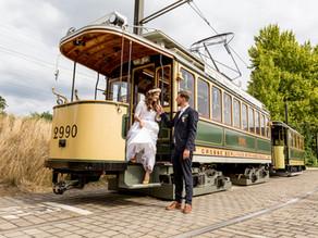Mietet eine historische Straßenbahn in Berlin für eure Hochzeit