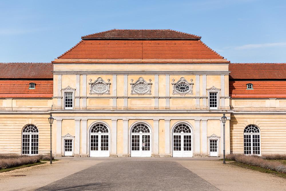 Fassade Grosse Orangerie Charlottenburg
