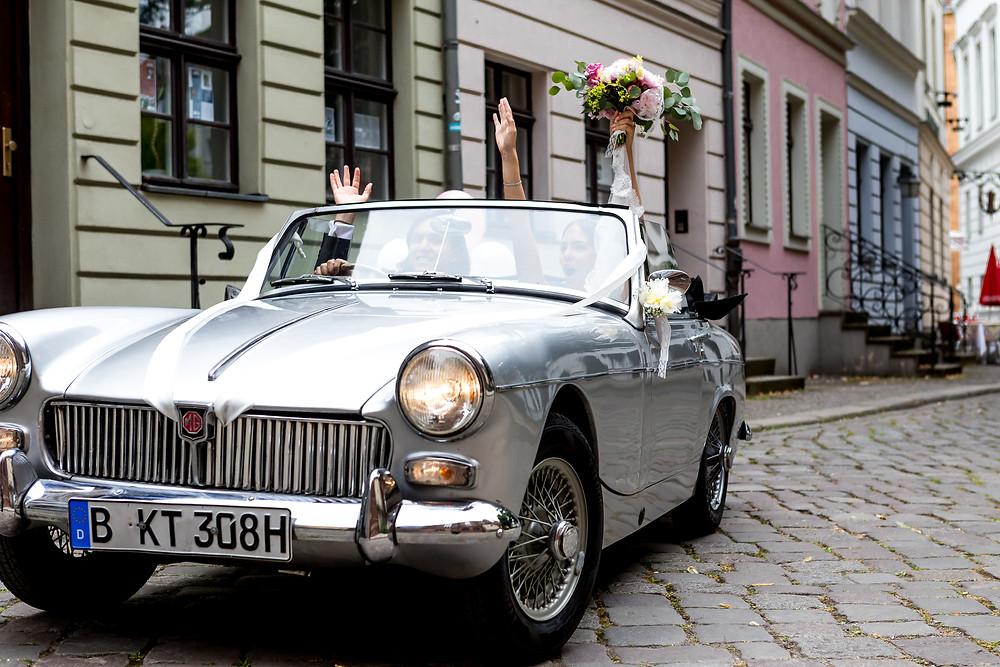 Hochzeit innnerhalb Berlins