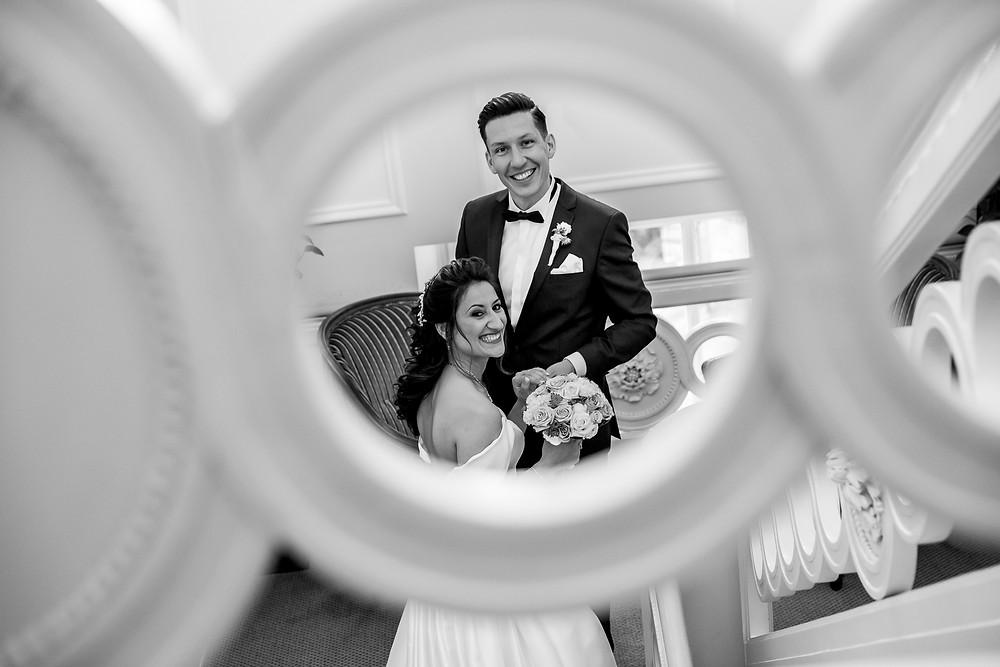 La Redoute Brautpaar glücklich