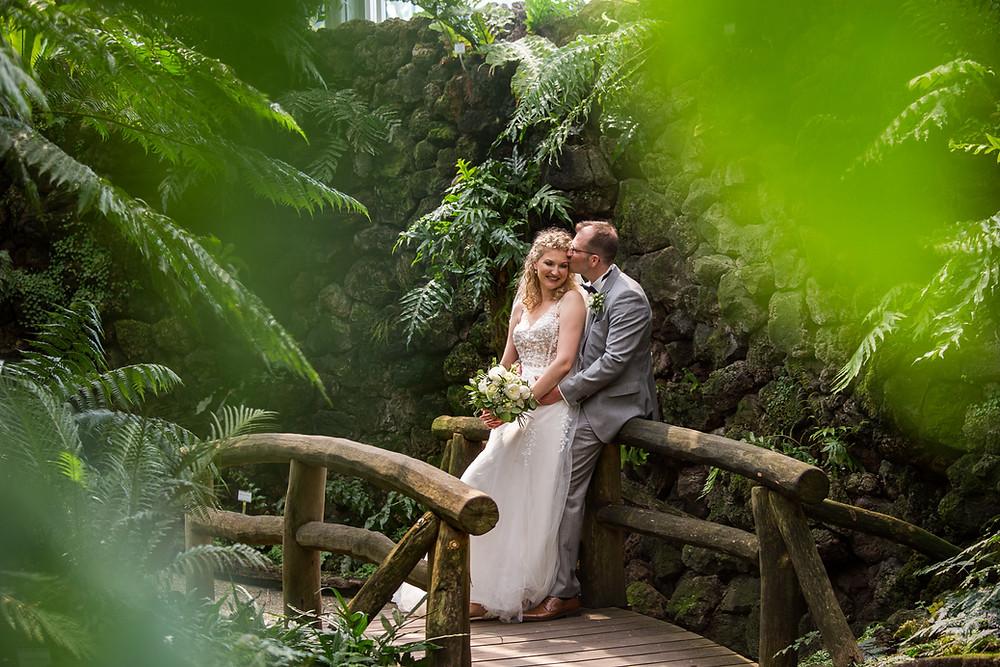 Brautpaarshooting im Botanischer Garten Berlin