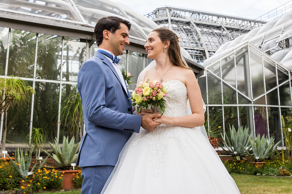 Brautpaarshooting Botanischergarten Berlin