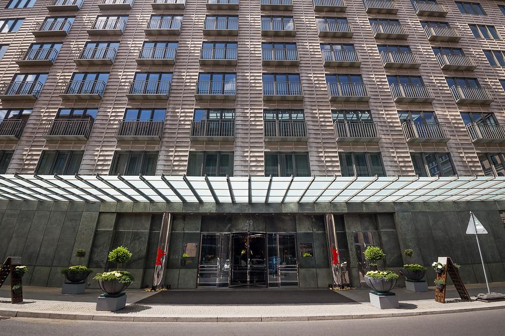 Hochzeitslocation Hotel Regent fassade