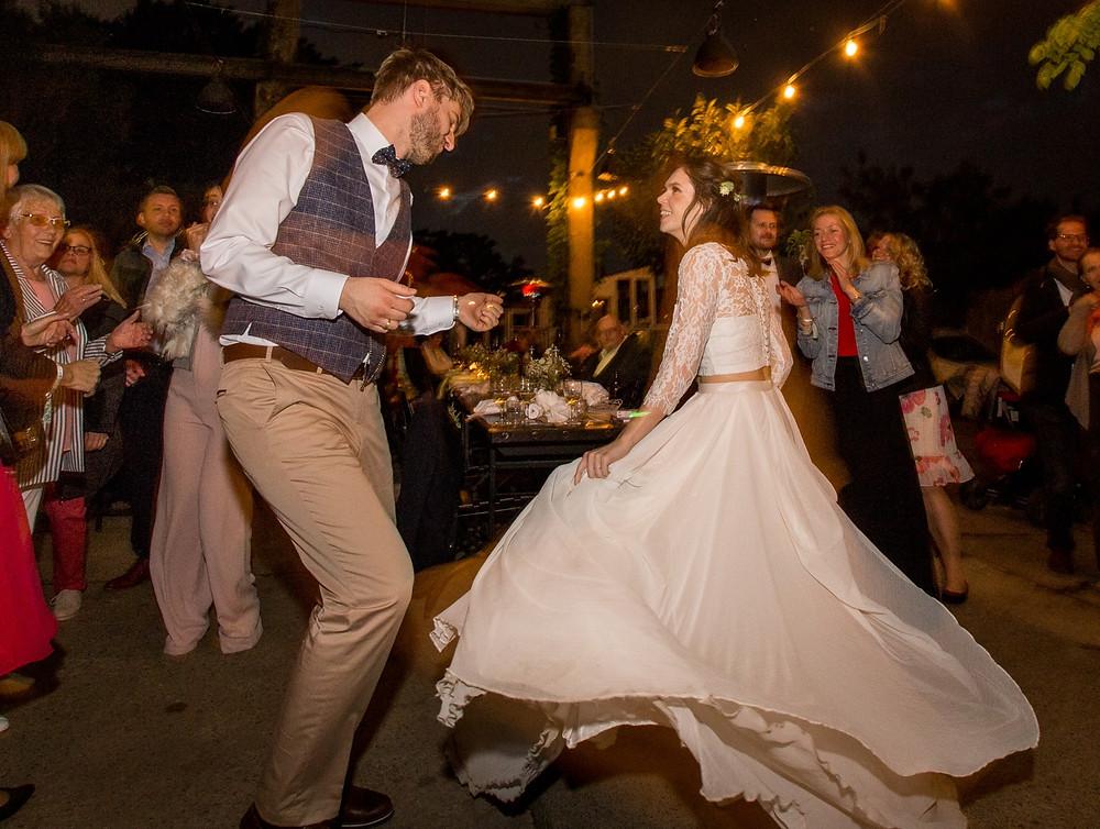 Hochzeitstanz Brautpaartanz Hochzeitsfeier