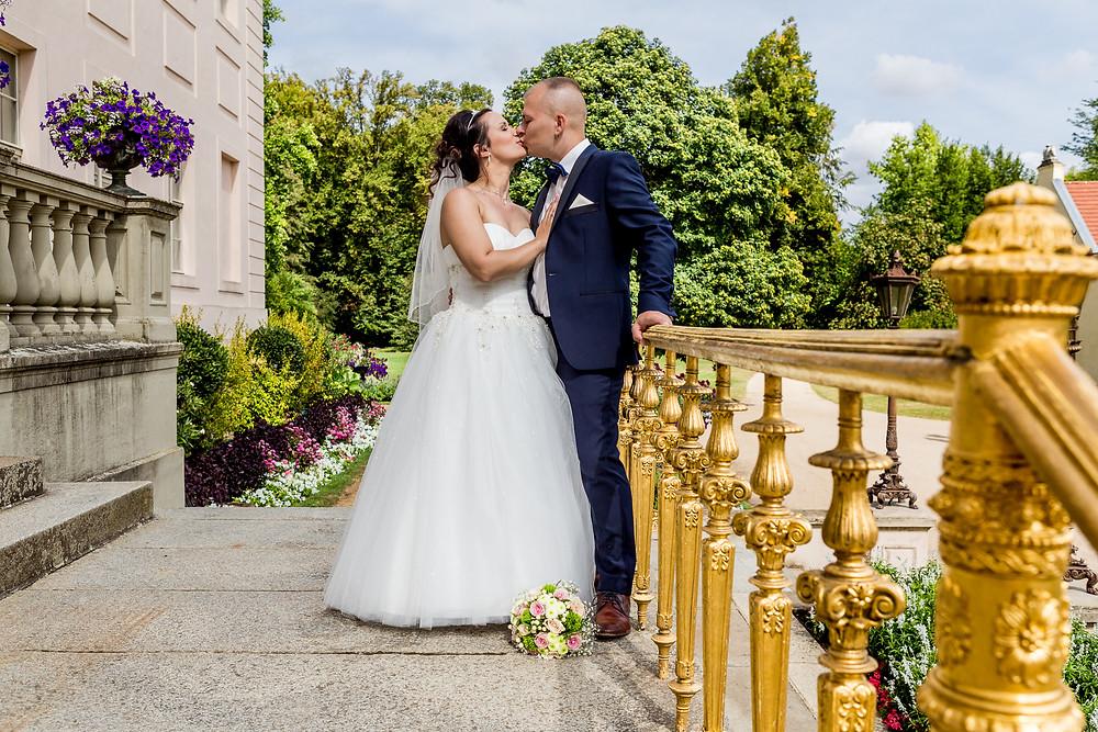 Brautpaar Schloss Branitz