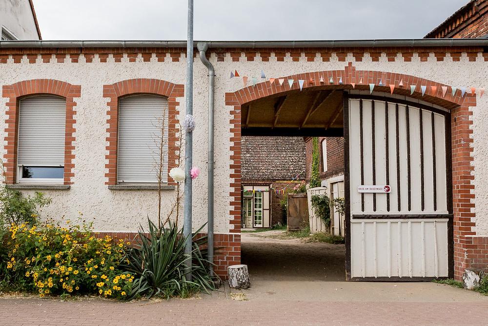 Eingang Haus am Bauernsee Dobbrikow