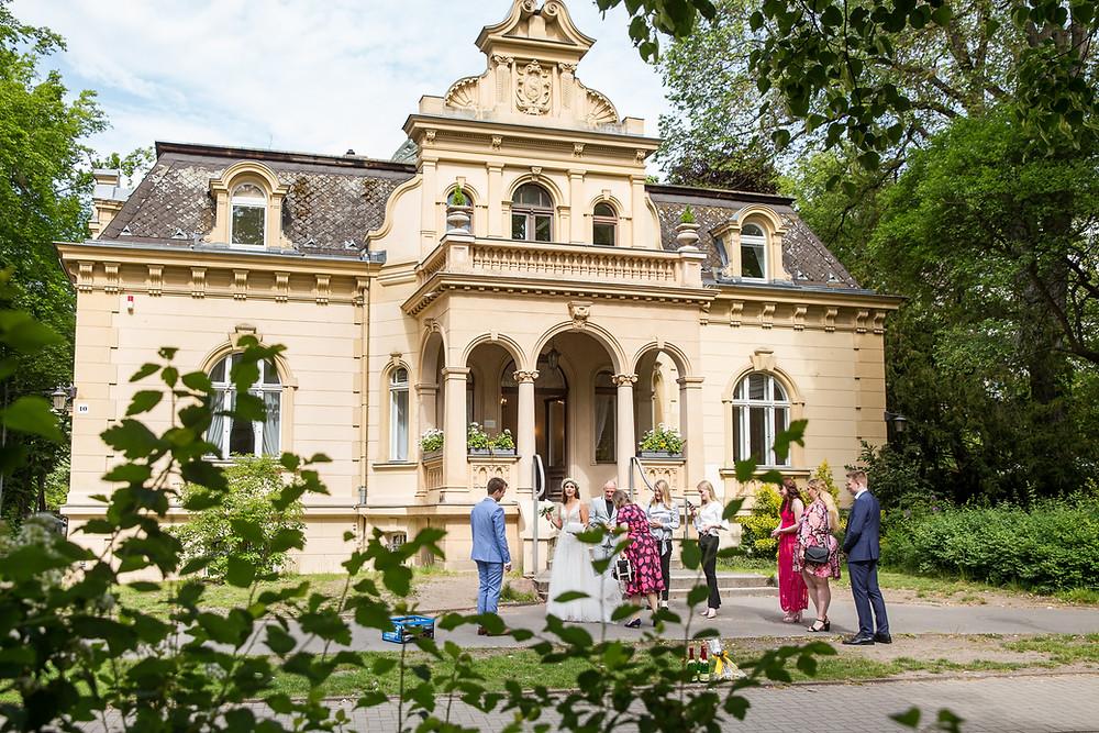 Fassada Hochzeitsvilla Standesamt Steglitz Zehlendorf Berlin