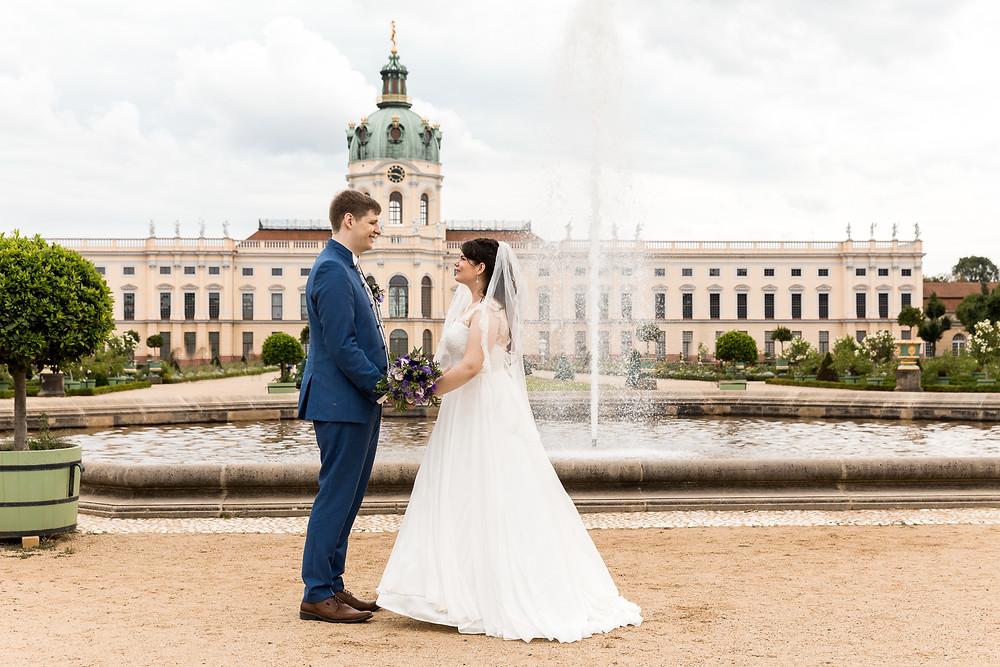Brautpaarshooting Schloss Charlottenburg