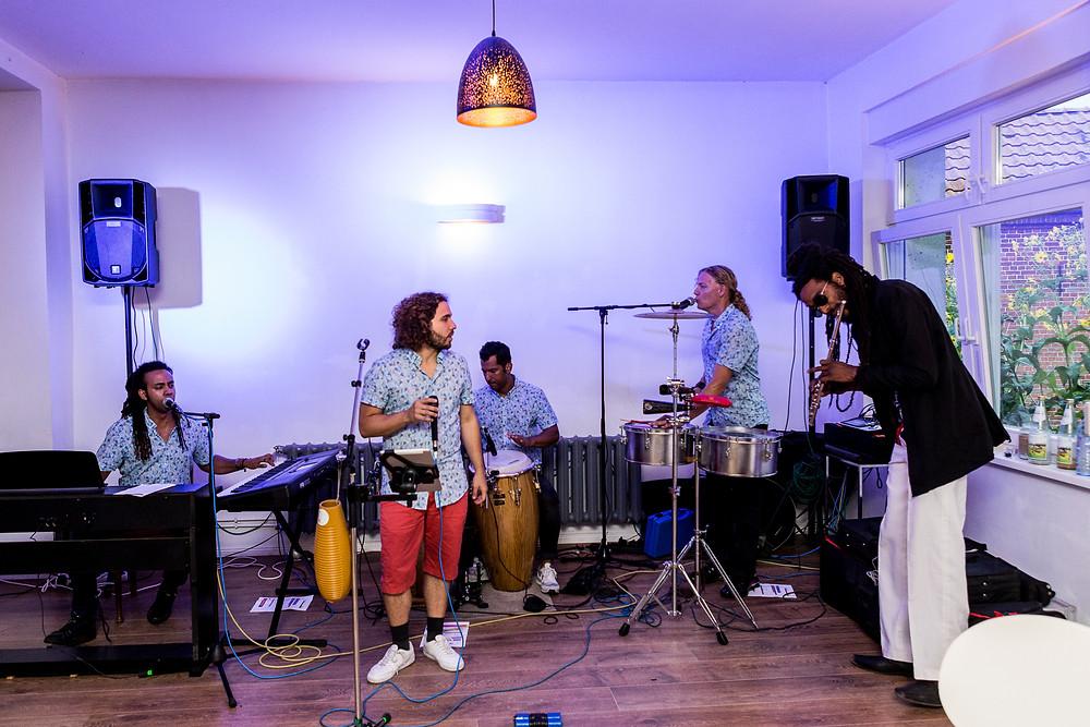 Hochzeitslocation Haus am Bauernsee (Dobbrikow) - Band Puento Latino