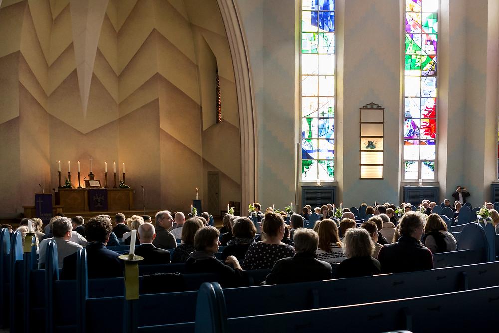 Innenbereich Kreuzkirche Schmargendorf