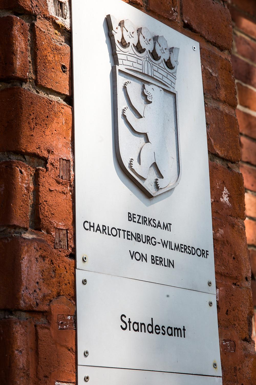 Standesamt Schmargendorf Fassade