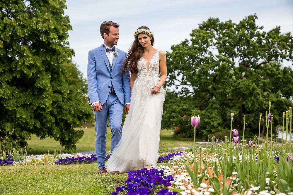 Brautpaarshooting Freundschaftsinsel Potsdam