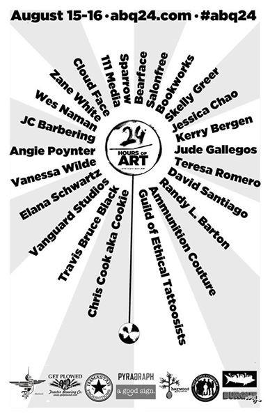 24 HOURS OF ART OPENING CEREMONIES