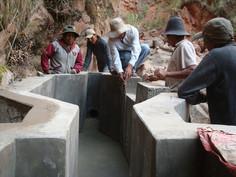 Lavori sistemi d'acqua