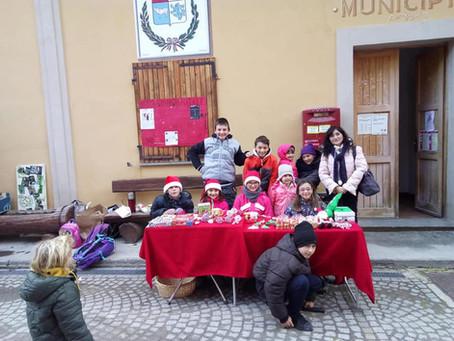 Giovani sostenitori Campagna Dolce Natale Solidale