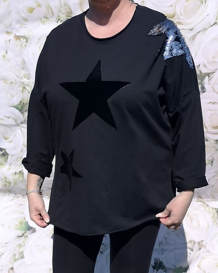Star Pattern Top